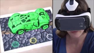 Nexus Realidade Virtual Exemplo de possibilidades para Realidade Aumentada