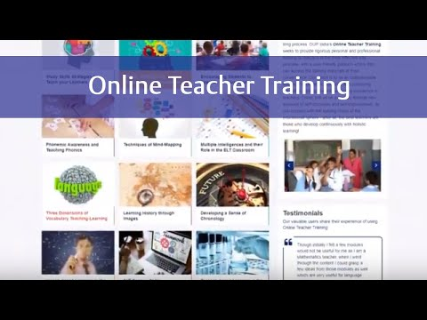 Teacher Training Courses by Oxford University Press - YouTube
