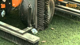 SISIS Brush-Pro - Synthetic Turf Maintenance