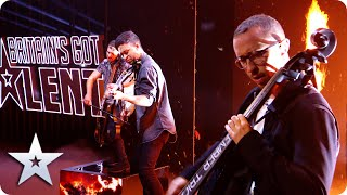 EPIC Ember Trio bring FIRE with ATMOSPHERIC mash-up | Semi-Finals | BGT 2020