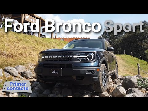 Ford Bronco Sport 2021 - balance perfecto entre on y off road