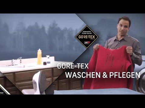 GORE-TEX Bekleidung - So waschen und pflegen Sie richtig!