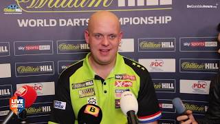 "Michael van Gerwen on reaching 2020 world final: ""Most of the time when Peter plays me he blows it"""