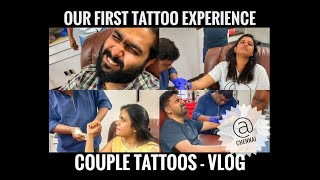 Our First Tattoo Experience | Couple Tattoo | Chennai | Sanjana Mohandoss