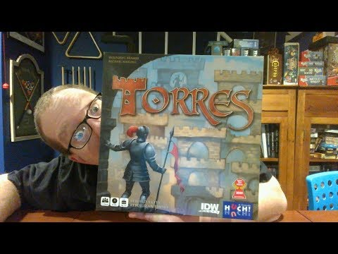 The Board Game Kaptain's review and tutorial for Torres