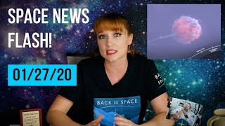 Space News   SpaceX on fire, Spaceforce New Logo, and 2020 Mars rover contest!