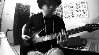 Chicosci - The Sound And Taste Of Tears Falling Upon Your Chest (Guitar Cover)