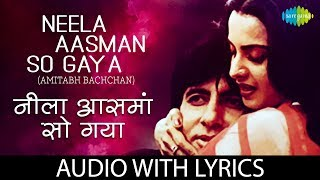 Neela Aasman So Gaya with lyrics | नीला   - YouTube
