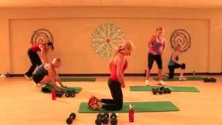 30-Minute Full Body Workout - Video 2 (Dumbbells & Mat) by Ali McWilliams