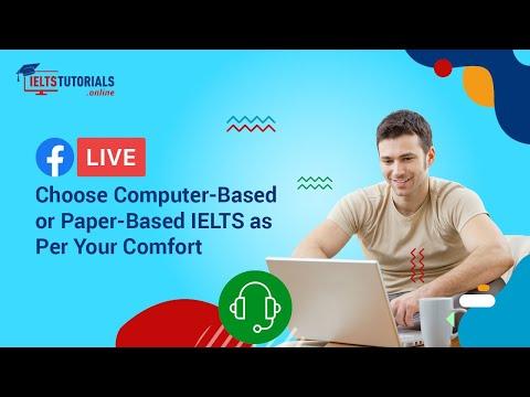 IELTS Exam | Computer-based Test vs Paper-based Test - YouTube