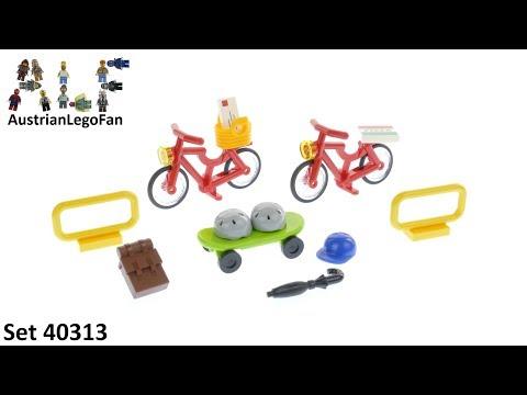 Vidéo LEGO Objets divers 40313 : LEGO Xtra - Vélos