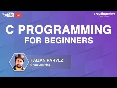 C programming for Beginners   Learn C Programming   C Language   Great Learning