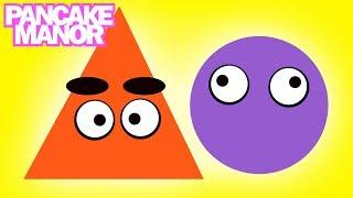 SHAPES SONG ♫ | Learning & Teaching | Kids Songs | Pancake Manor