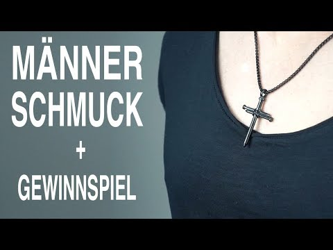 MÄNNER SCHMUCK ● SCHMUCK für MÄNNER + GEWINNSPIEL | HERRENSCHMUCK