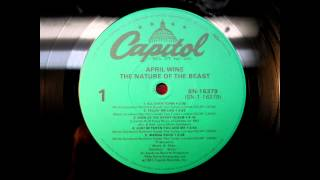 April Wine.. All Over Town.. 1981 The Nature Of The Beast.. Vinyl Transfer