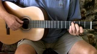 "How To Play ""Blue Shadows"" on Guitar - Three Amigos"