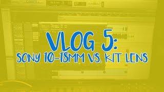 Vlog 5: Sony 10mm vs Kits Lens   Happy Birthday Grandpa