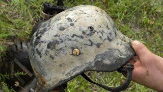 Раскопали немецкий блиндаж , находки впечатлили !