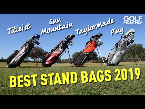 Best Stand Bags 2019 - We Crown A Winner! Golf Monthly