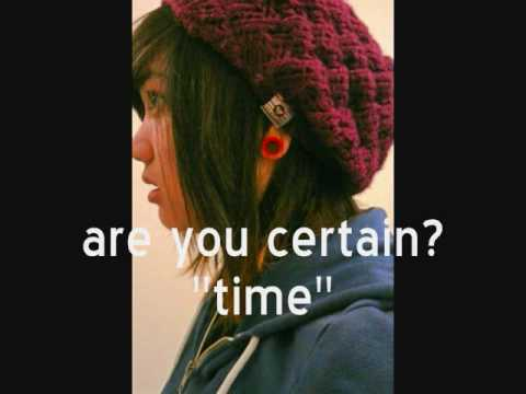 are you certain? - time