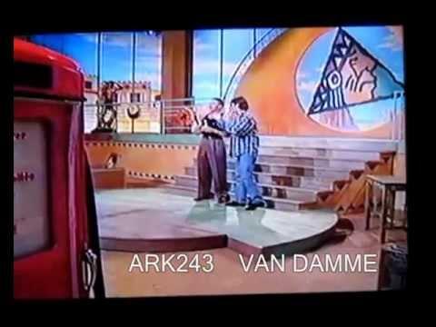 Jean Claude Van Damme _ ( MEGA RARE ) Promote Double Impact PART 3