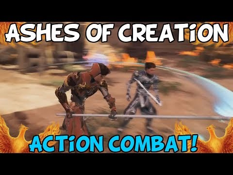Ashes Of Creation Show Action Combat Gameplay! – My Thoughts