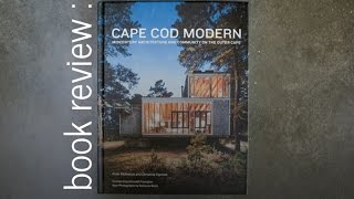 Cape Cod Modern: Book Review