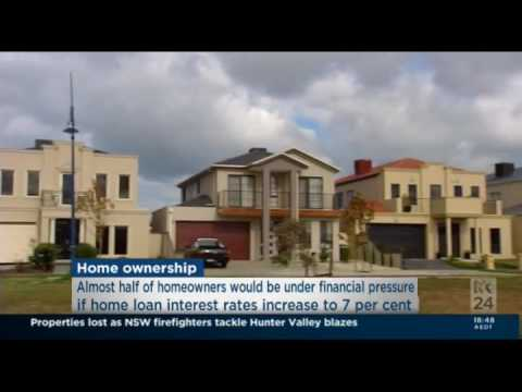 ABC News 24 Does Household Mortgage Rate Sensitivity