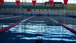 Мой заплыв в бассейне Евпатории 2012 (Андрей Казаков)