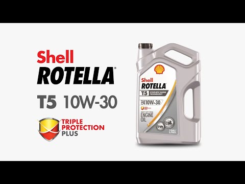 Shell Rotella Engine Oil T5 10W-30