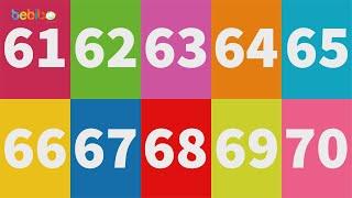 Vui học cùng Bé Bí Bo - Bé học đếm số từ 61 đến 70 thật vui, hấp dẫn và bổ ích