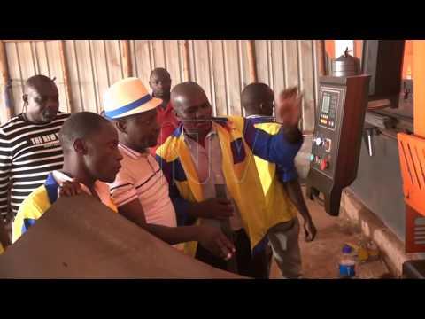 Ab'e Nateete bafunye ebyuma Museveni bye yabasuubiza