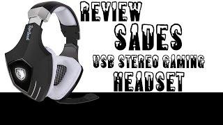 Sades A60 USB Stereo Gaming Headset Review USB Gaming Headset von Sades *German*