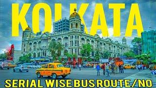 Kolkata Bus Route & No in Details(Howrah, Dumdum, Sealdah, Barasat, Siliguri, Malda, Durgapur)
