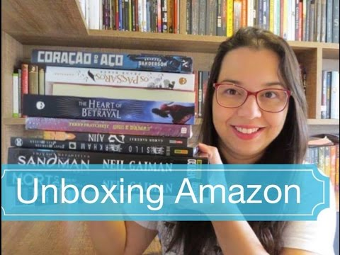Unboxing Semana Black Friday Amazon Blog Leitura Mania