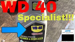 WD 40 Specialist Industrial Strength Cleaner and Degreaser!!!