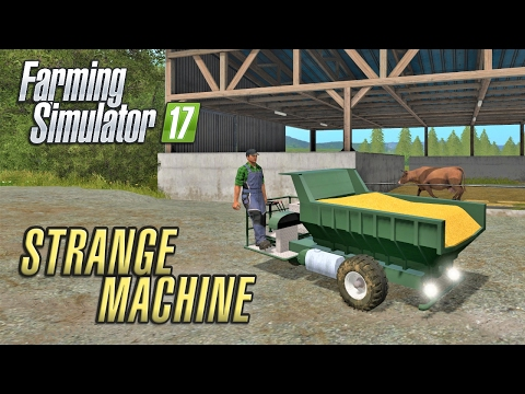 Farming Simulator 2017 | A STRANGE MACHINE | Wexcombe Manor
