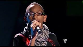 """Jamil canta """"Mi corazoncito"""" en """"La Voz Kids"""""""