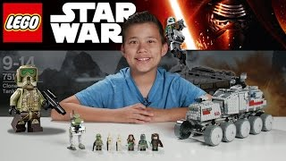 CLONE TURBO TANK - LEGO Star Wars Set 75151 Time-lapse, Unboxing & Review