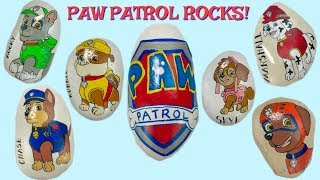 Learn Colors with Paw Patrol Turns into ROCKS! Can We Find the Pups & Ryder   Fizzy Fun Toys