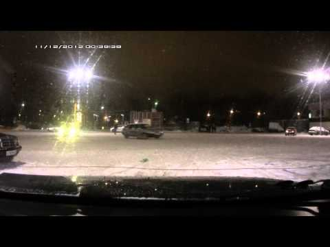 Авария на линии (видеорегистратор)