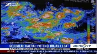 Waspada Daerahdaerah Ini Berpotensi Hujan Lebat Dan Angin Kencang