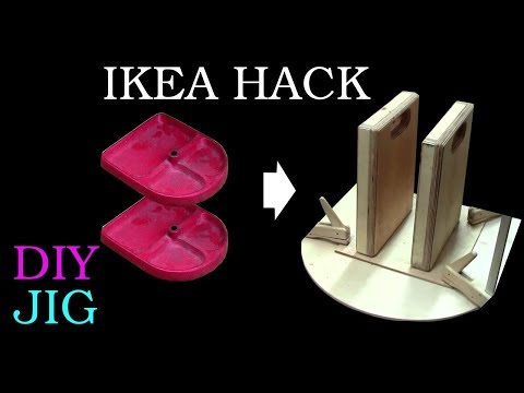 "Ikea Hack - Lamp stand becomes a ""long reach clamp"""