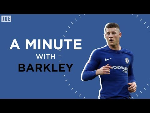 Ross Barkley on Sarri, Hazard and Chelsea's Premier League title credentials | A Minute With Barkley