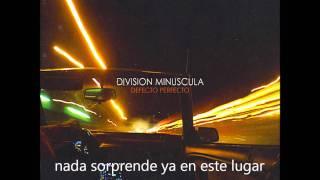 Division Minuscula-Sismo (letra)