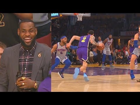 Lonzo Ball Impresses LeBron & Kyle Kuzma Shocks Lakers After Destroying Pistons! Lakers vs Pistons