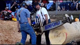 Worlds Most Powerful Chainsaws Compilation