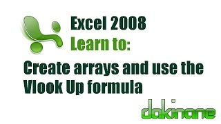 Excel - Using Formulas Tutorial 4