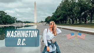 WASHINGTON D.C. 🇺🇸| Travel VLOG | What to see in 2 days | Smithsonian Museums, sights #washington