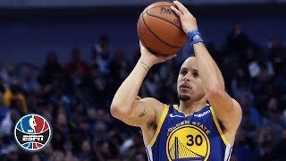 Steph Curry scores 48 points in the Warriors' win vs. the Mavericks | NBA Highlights